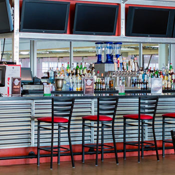 Host your holiday parties at Aviators Aces Lounge Patio