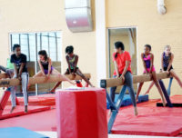 Professional gymnastics coaches teach you