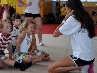 Camps doing Gymnastics