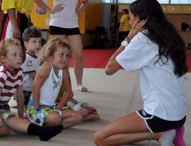 Gymnastics at Holiday Break Camp