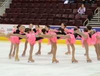 synchronized skating lessons at Aviator Sports