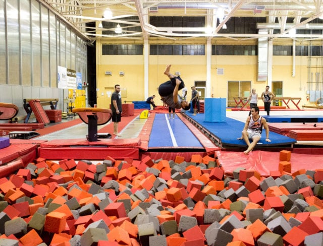 Aviator Gymnastics is fun at Aviator Sports