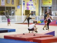 Gymnastic Birthday Party