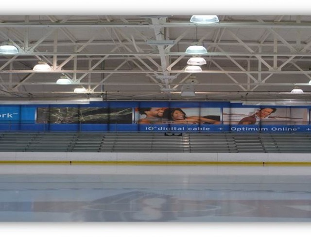 Ice Rink Optimum Network Banner
