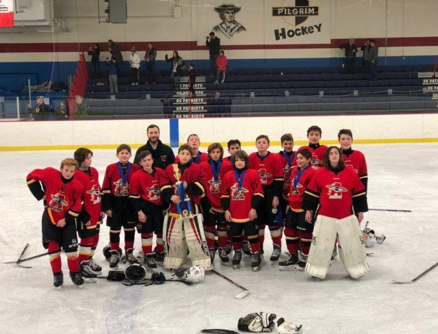 Pee Wee Major Warwick Brooklyn Ice Hockey