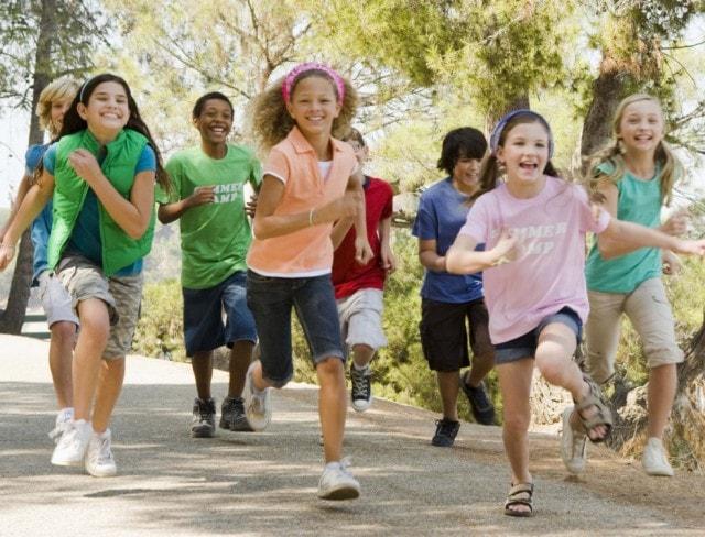 Children enjoying Holiday Break Camp