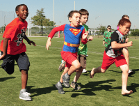 Races and other fun activities at Aviator Summer Day Camps