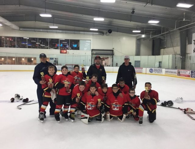 Winner Squirt Major Brookyln Ice Hockey