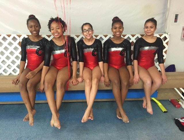 Aviators girls gymnastics program offers beginner, intermediate, and advanced skill sections