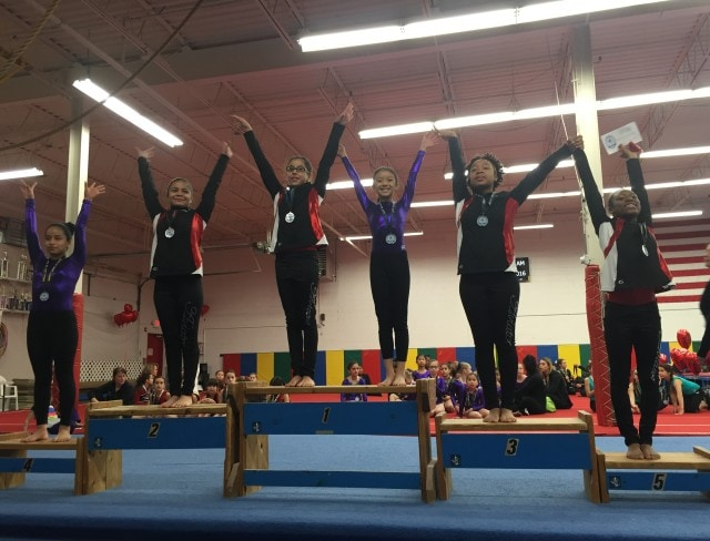 Aviator gymnastics teaches gymnasts how to successfully compete