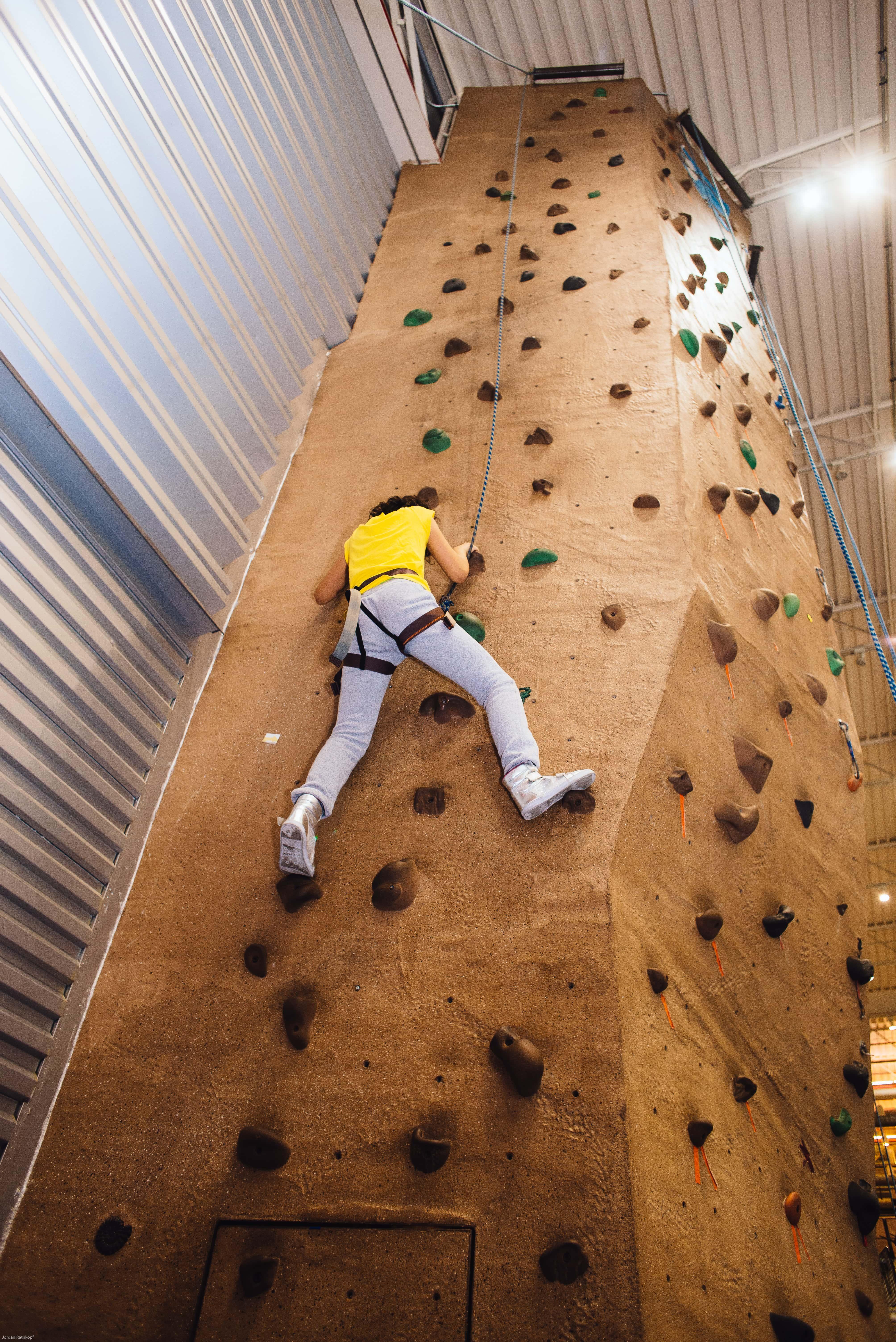 Rock Climbing Offers Challenge & Adventure | Aviator Sports