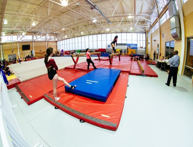see a day in the a gymnast's life at Aviator Sports