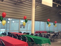 Have plenty of space for larger holiday parties at Aviators