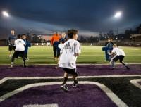 Steve Clarkson Football play