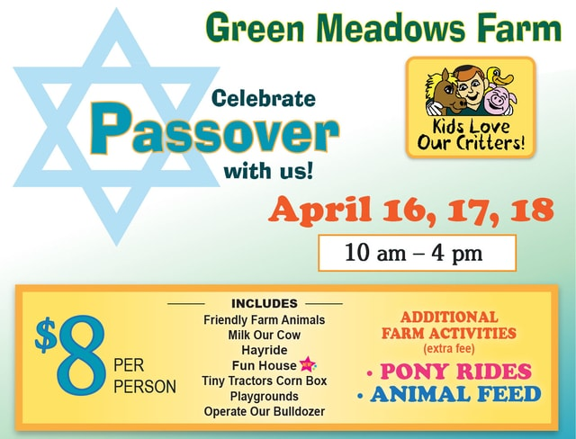 Celebrate Passover at Green Meadows Farm