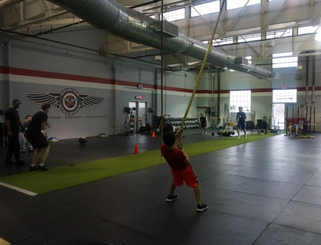 Aviator Athletics Personal Trainer workout 3