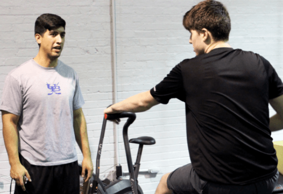 Aviator Athletics Personal Trainer workout