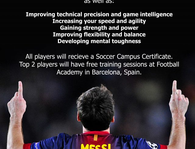 Sign your child up for Barcelona Soccer Campus today