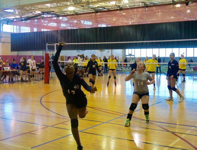 Aviator Volleyball Club mid game save