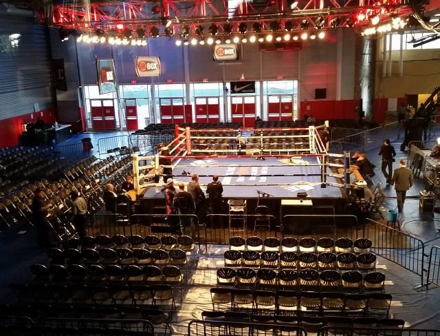 Showtime Boxing at Aviator Sports
