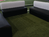 Couches on Field House Turg