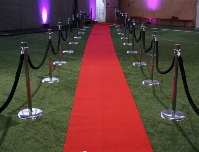 Field House Turf Red Carpet