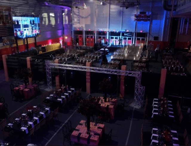 Field House Event with stage