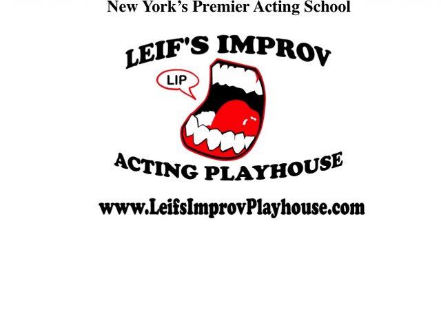 Leif's Improv Acting Playhouse 1