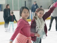 Ice Skating at Aviator Camps