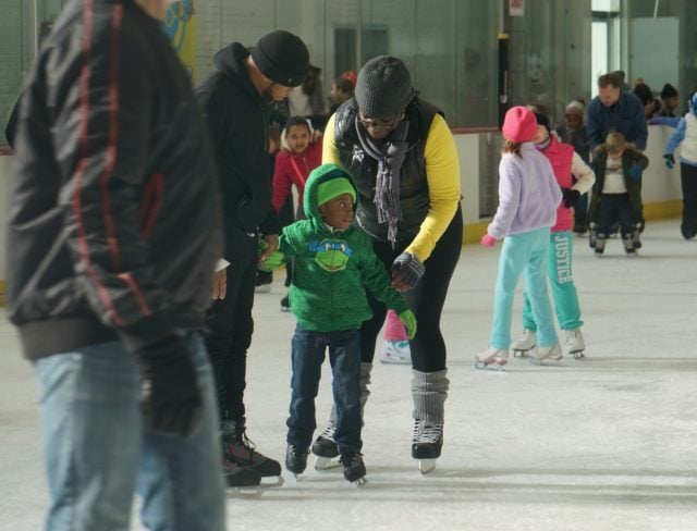 Ice Skating at Aviator Sports