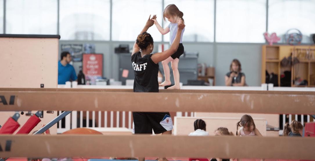 Gymnast S Life A Special Peek Aviator Sports Brooklyn Ny