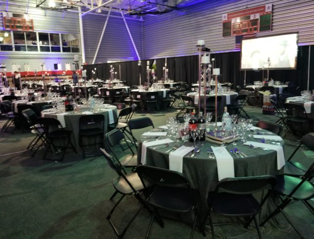 Aviator Field House for an event
