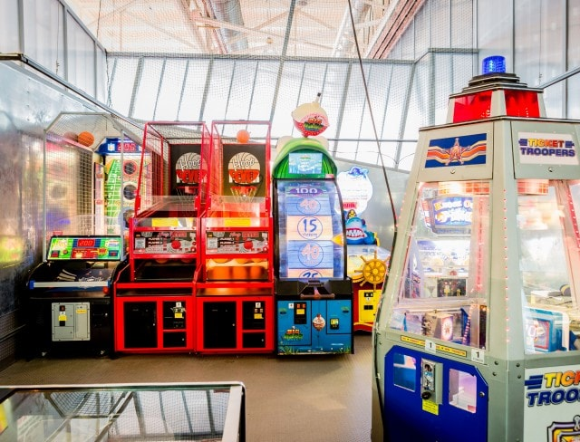 There's fun for everyone at Aviator's video game arcade, game arcade, game arcades