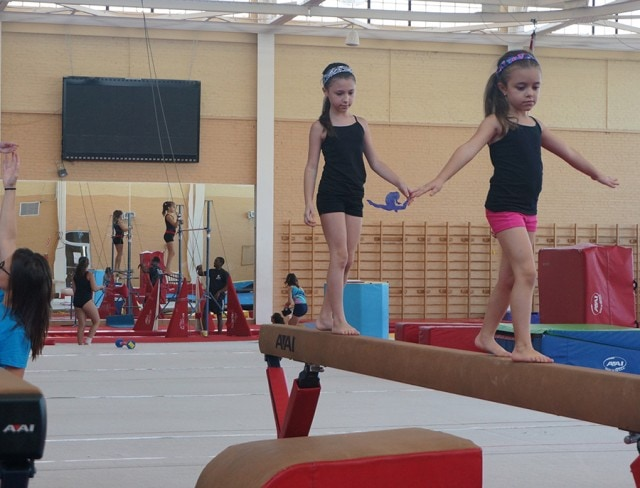 Camps on balance Beams