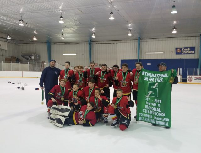 Bantam Minor Silver Stick Brooklyn Ice Hockey Team