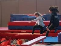 Foam pit jump