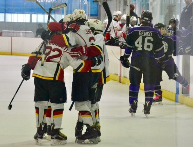 Hockey Playoff Victory