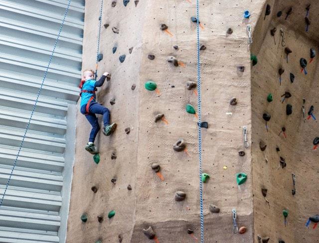 Rock Climbing Birthday Party in brooklyn