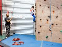 The Rock Wall at Aviator, rock climbers, rock climbing, indoor rock climbing nyc,rock climbing in new york