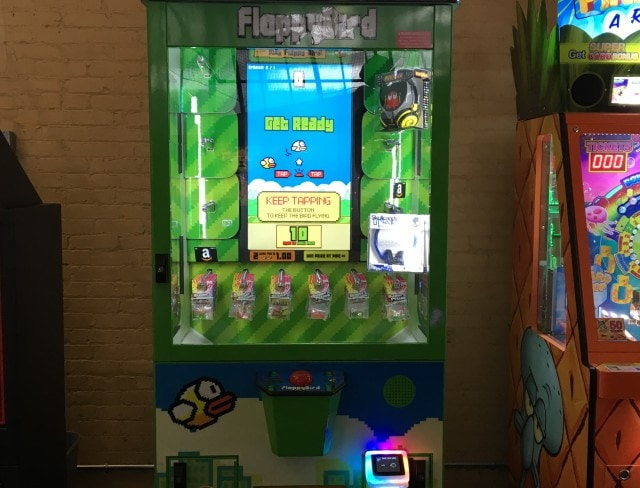 Play FlappyBird and other games at Aviators video game arcade, game arcade, game arcades, arcades in brooklyn