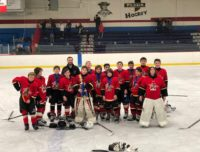 Pee Wee Major Warwick Brooklyn Ice Hockey