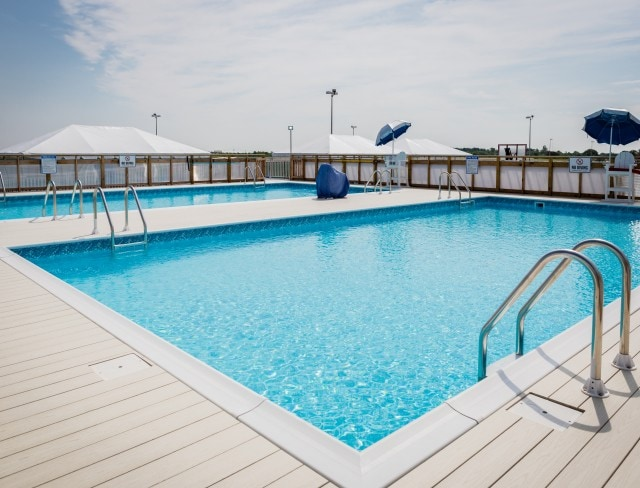 LEt Aviator Sports at Floyd Bennett Field in Brooklyn, NY, host your birthday pool party this year!