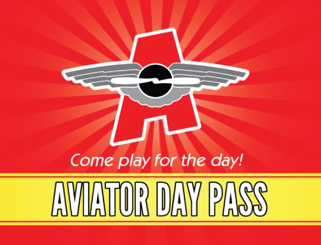 Enjoy a fun day at Aviator with an All Day Pass