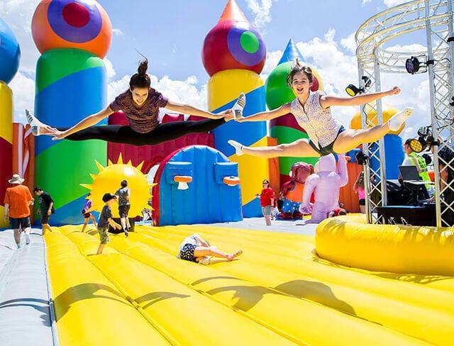 Big Bounce America, trampoline park