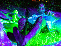 blacklight slide, neon slide, blacklight slide ny, blacklight slide brooklyn