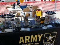 Go Army Marketing Table