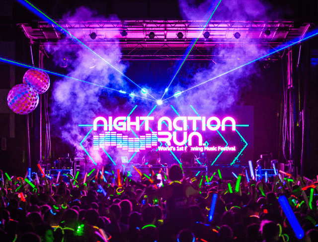 Night nation run party
