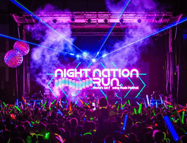 Night nation run party