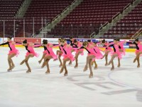 Join synchronized skating at Aviator Sports