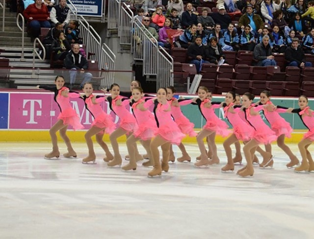 Register for the synchronized skating program at Aviator Sports
